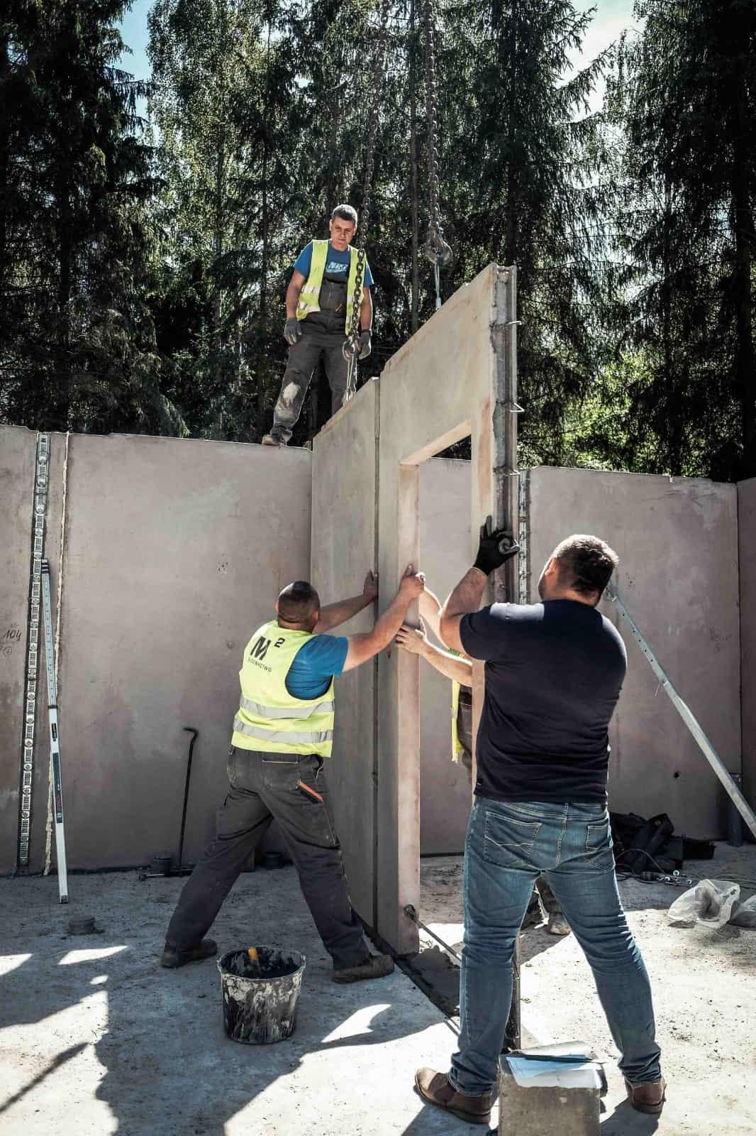 Buszrem Prefabrykaty budowa domu